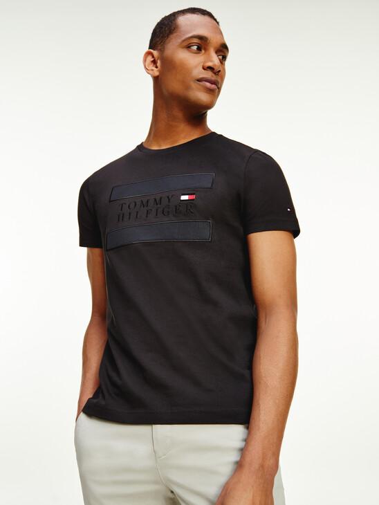 Tonal Logo Organic Cotton T-Shirt