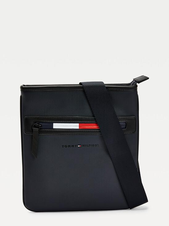 Essential Signature Zip Crossover Bag