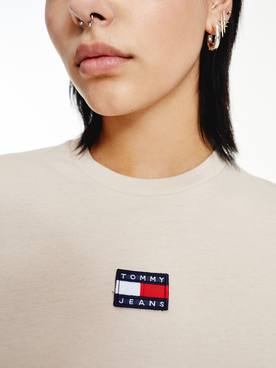 Tommy Badge Long Sleeve T-Shirt