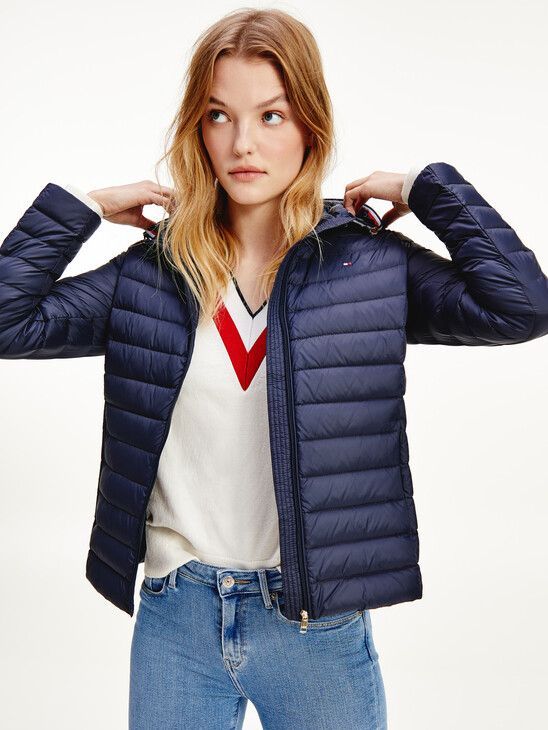 Essential Down-Filled Quilted Hooded Jacket