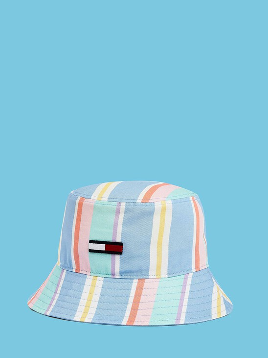 Pastel Stripe Bucket Hat
