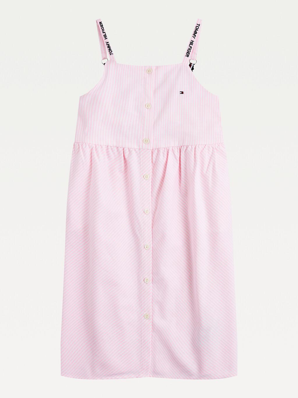 Neon Stripe Sleeveless Dress