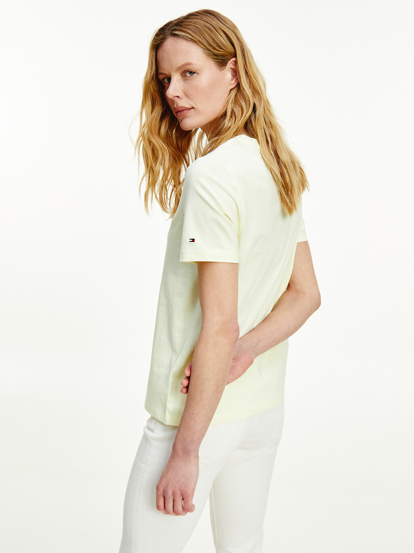 Tonal Embroidery Organic Cotton T-Shirt