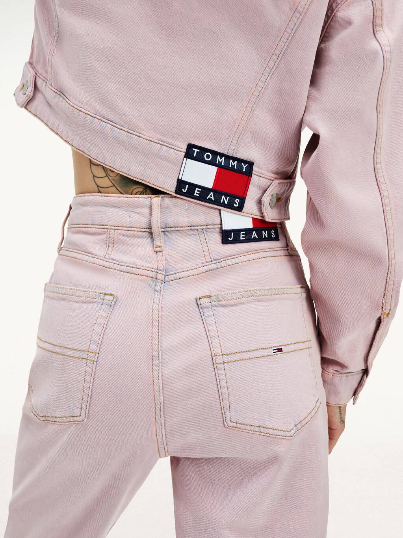 Garment Dye Cropped Trucker Jacket