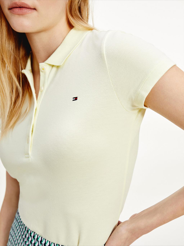 Slim Fit Stretch Cotton Polo