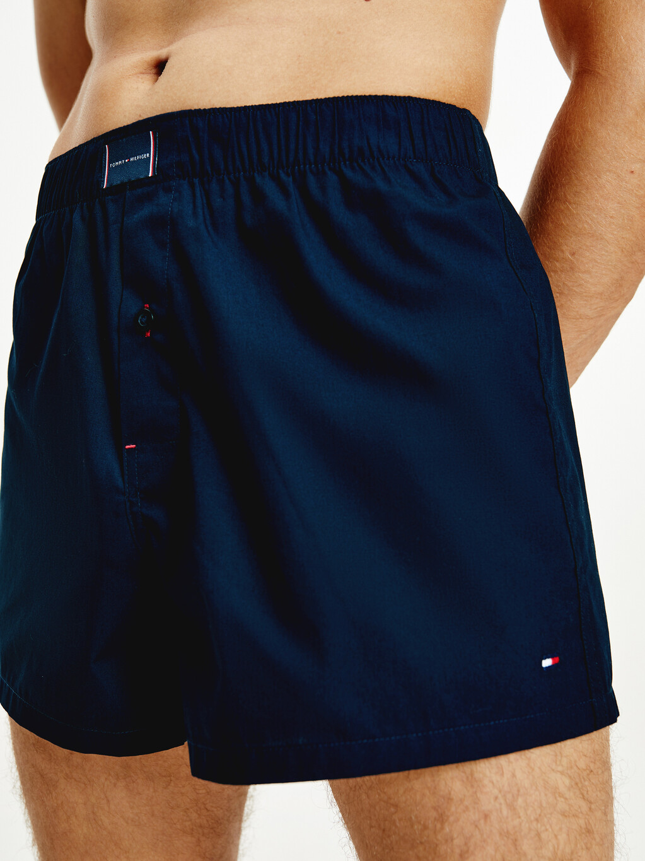 2-Pack Woven Organic Cotton Boxer Shorts