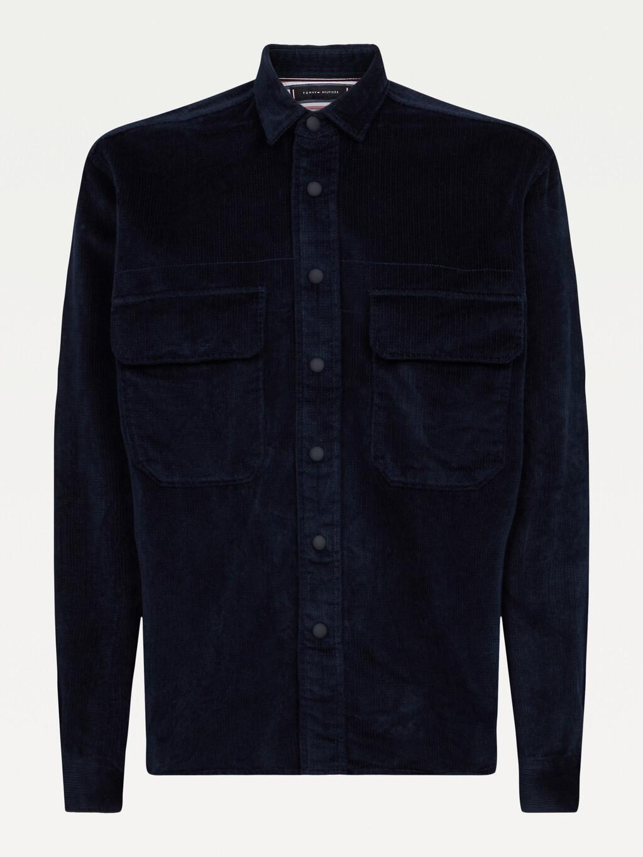 Corduroy Relaxed Overshirt