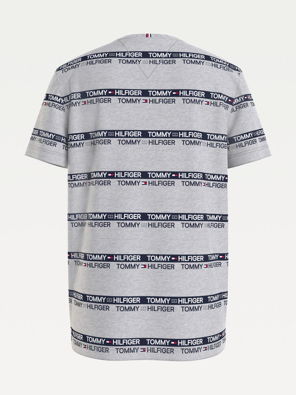 Repeat Logo Tape Organic Cotton T-Shirt