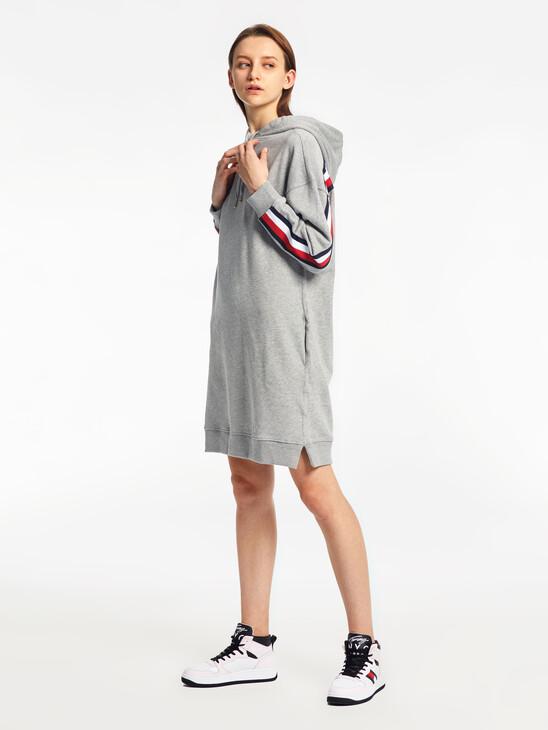 Signature Trim Hoody Dress